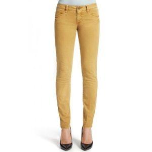 CAbi• gold skinny jeans